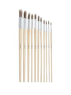 harris-11-pack-seriously-good-artists-round-paintbrushes