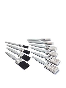 Harris Harris 10 Pack Essential Wall & Ceiling & Gloss Paintbrushes Picture