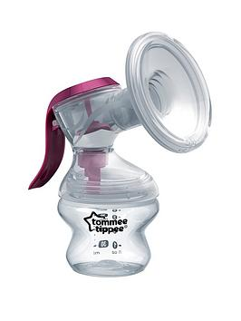Tommee Tippee Tommee Tippee Made For Me Single Manual Breast Pump Picture