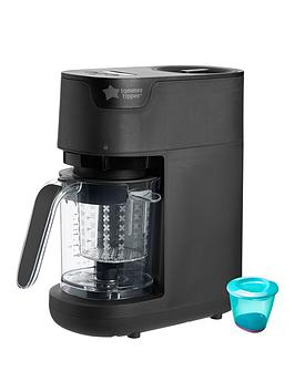 tommee-tippee-quick-cook-baby-food-maker-black