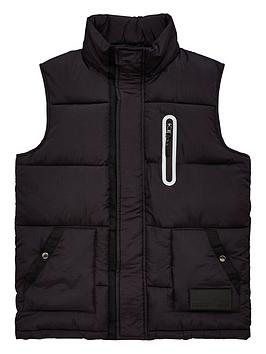 v-by-very-boys-shower-proof-padded-gilet-mini-me-black