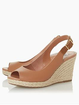 Dune London Dune London Kicks2 Wide Fit Wedge Sandal Picture