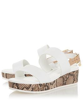 dune-london-lennie-mix-material-flatform-low-wedge-sandal-white