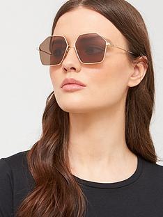 mcq-alexander-mcqueen-mcq-by-alexander-mcqueen-hexagonal-sunglasses