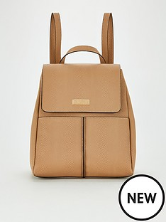 carvela-heidi-backpack-camel