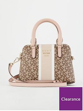 dkny-whitney-mini-satchel-with-logo-and-stripe-pink