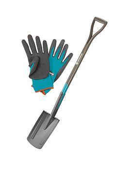 Gardena Gardena Natureline Spade + Free Gloves Picture