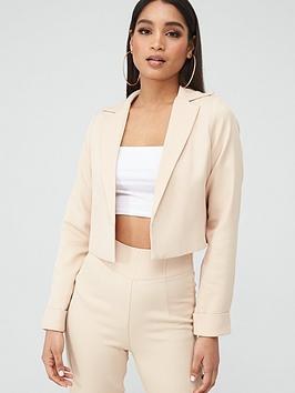 In The Style In The Style In The Style X Stephsa Camel Cropped Jacket -  ... Picture