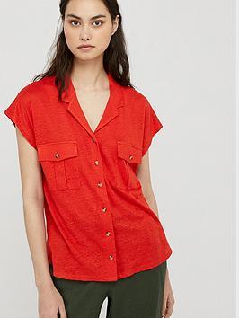 Monsoon Monsoon Leena Linen Button Down Shirt Picture