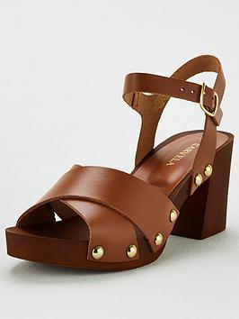 Carvela Carvela Bolder Heeled Sandal - Tan Picture