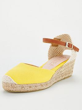 Office Office Miller Espadrille Wedge - Yellow Picture