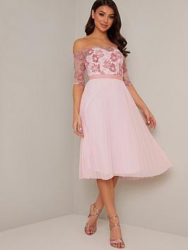chi chi london Chi Chi London Selda Dress - Pink Picture
