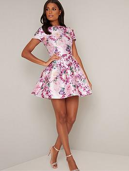 chi chi london Chi Chi London Ashby Dress - Mink Picture