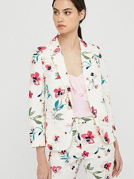 Monsoon Monsoon Maisy Floral Print Jacket - Ivory Picture