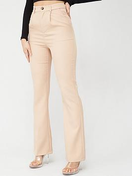 In The Style In The Style In The Style X Fashion Influx High Waisted Wide  ... Picture