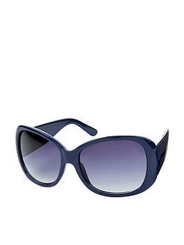 Monsoon Monsoon Washington Wrap Sunglasses - Teal Picture