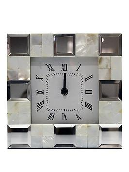 ARTHOUSE  Arthouse Shell Mantel Clock
