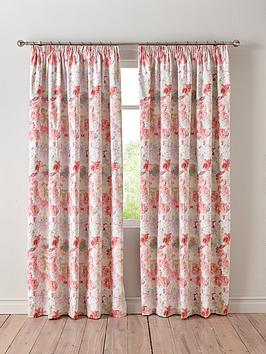 Very Wendy Tait Blossom Blackout 3-Inch Pleated Curtains Picture