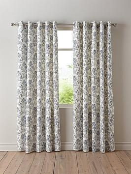 Very Chloe Lined Eyelet Curtains Picture