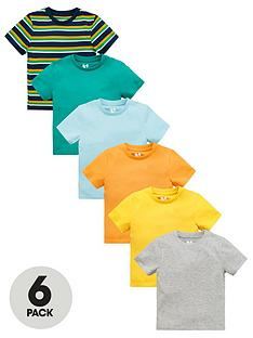 v-by-very-boys-6-pack-short-sleevenbspt-shirts-multi