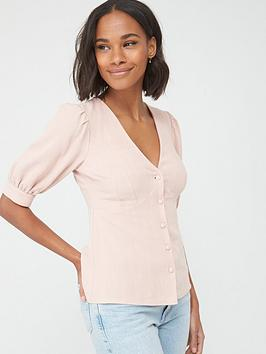 v-by-very-casual-button-through-blouse-blush