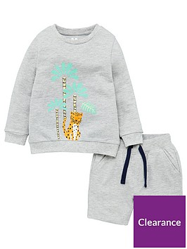 v-by-very-boys-tiger-print-long-sleeve-jersey-tee-and-shorts-grey
