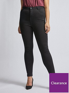 dorothy-perkins-curve-4-way-stretch-jeans-black