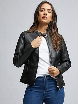 Dorothy Perkins Dorothy Perkins Dorothy Perkins Petite Faux Leather  ... Picture