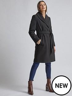 dorothy-perkins-dorothy-perkins-black-shawl-wrap-coat-black