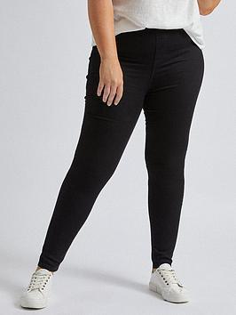Dorothy Perkins Dorothy Perkins Curve Eden Jeans - Black Picture