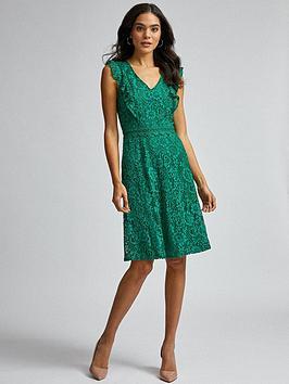 dorothy-perkins-lace-ruffle-taylor-dress-greennbsp