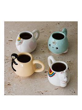 Very Animal Espresso Mug Set Picture
