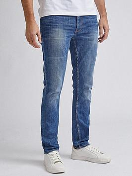 Burton Menswear London Burton Menswear London Mid Wash Skinny Fit Jeans -  ... Picture
