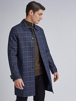 Burton Menswear London Burton Menswear London Check Lightweight Carcoat -  ... Picture