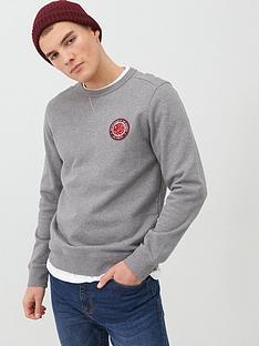 pretty-green-like-minded-logo-sweatshirt-grey-marl