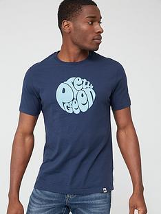 pretty-green-gillespie-logo-short-sleevenbspt-shirt-navy