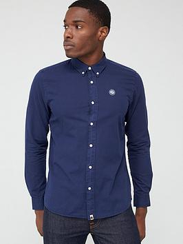 Pretty Green Pretty Green Edward Shirt - Navy Picture