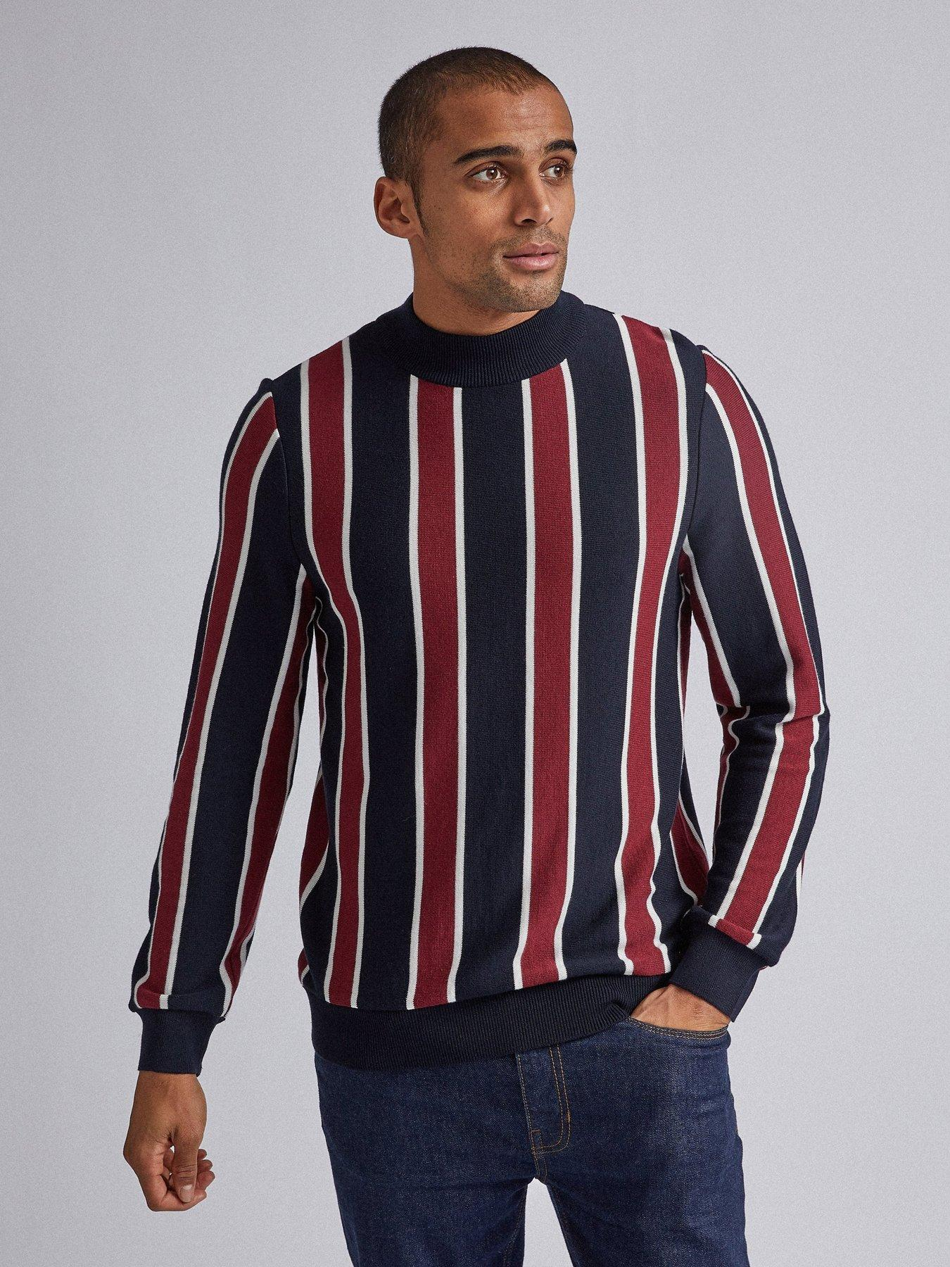 Mens Roll Neck Jumper Long Sleeve Sweater Plain Stretch Classic Casual S-2XL