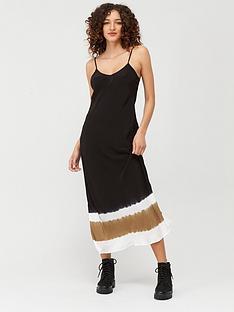 religion-tye-dye-dipped-slip-dress-black