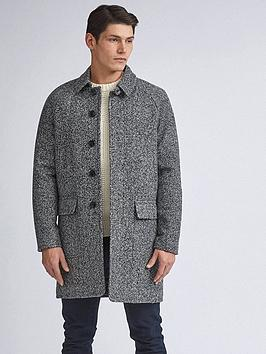 Burton Menswear London Burton Menswear London Grindle Car Coat - Grey Picture