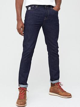 Pretty Green Pretty Green Erwood Slim Fit Jeans - Rinse Wash Picture