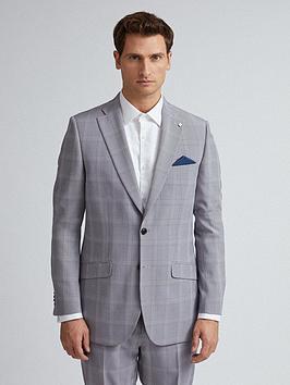 Burton Menswear London Burton Menswear London Check Slim Fit Suit Jacket  ... Picture