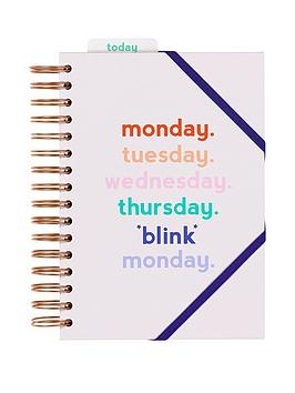 Yes Studio Power Planner - Monday Blink