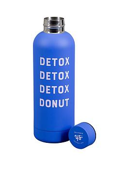 Very Yes Studio 500Ml Water Bottle - Detox Donut Picture