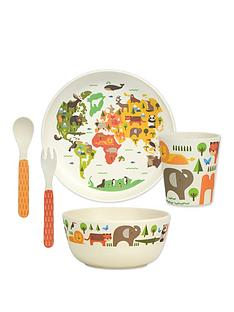 petit-collage-bamboo-baby-dinnerware-set-our-world
