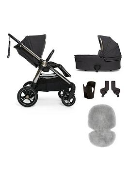 mamas-papas-ocarro-starter-4-piece-pushchair-bundle-onyx