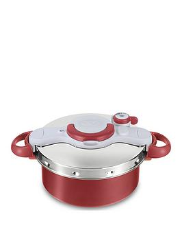 Tefal Tefal Clipso Minut Duo 5-Litre 2-In-1 Pressure Cooker &Amp; Stewpot Picture