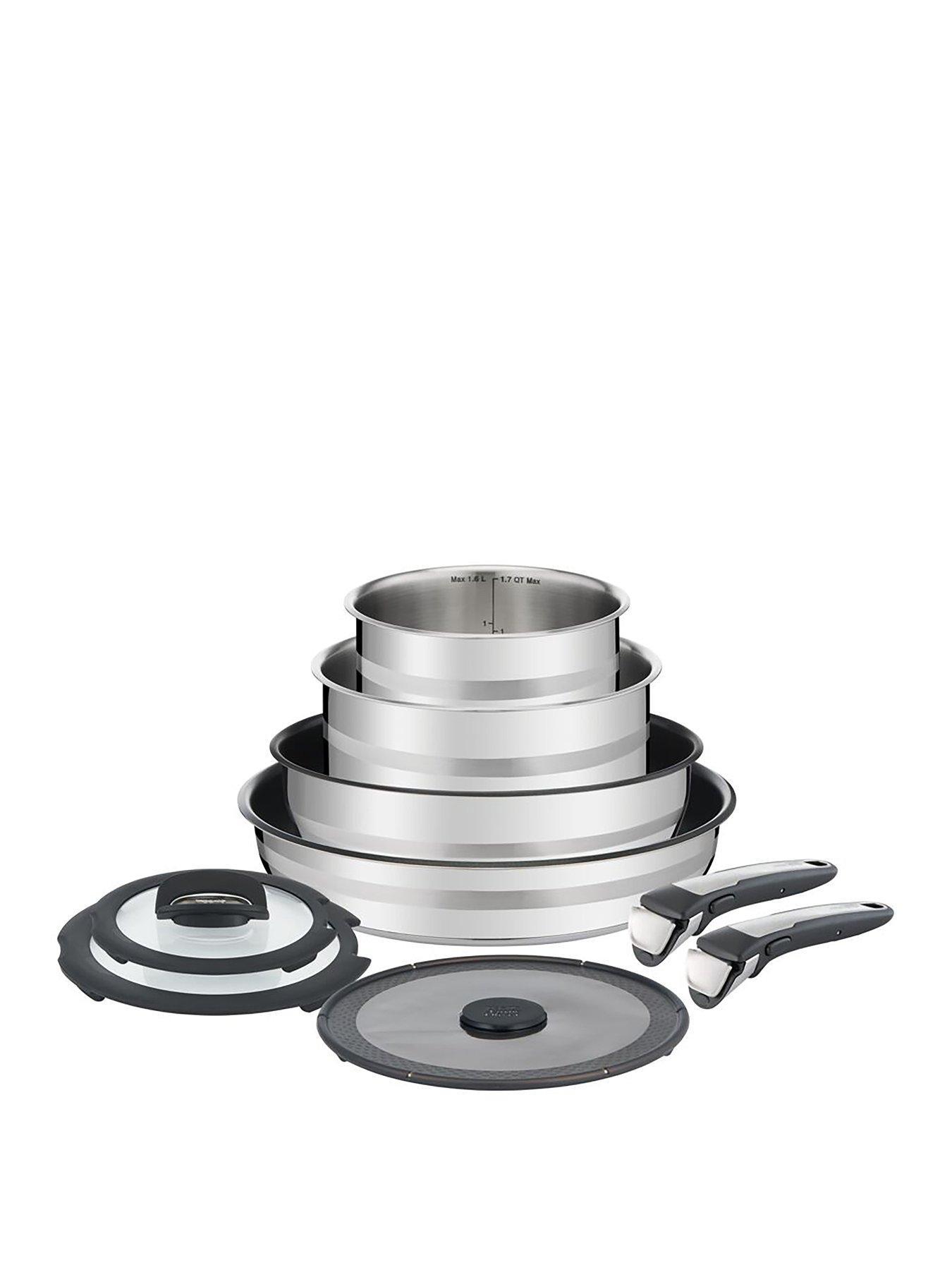 Removable Steel Insdert Handle for Tefal Ingenio Pan Sets Twin Pack 2 Handles