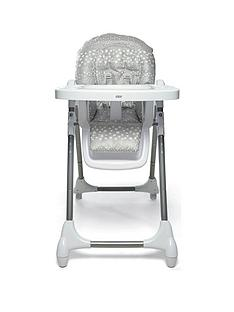 mamas-papas-snax-highchair-grey-spot