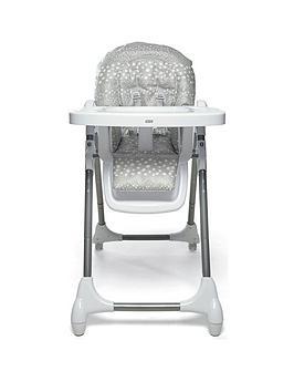 mamas-papas-snax-highchair-grey-spot